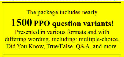 California Private Patrol Operator PPO license test examination