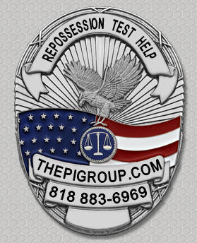 California Repossession Agency License Test