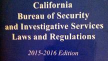 California Private Patrol Operator PPO license test examination