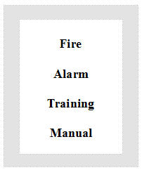 fire life safety training manual