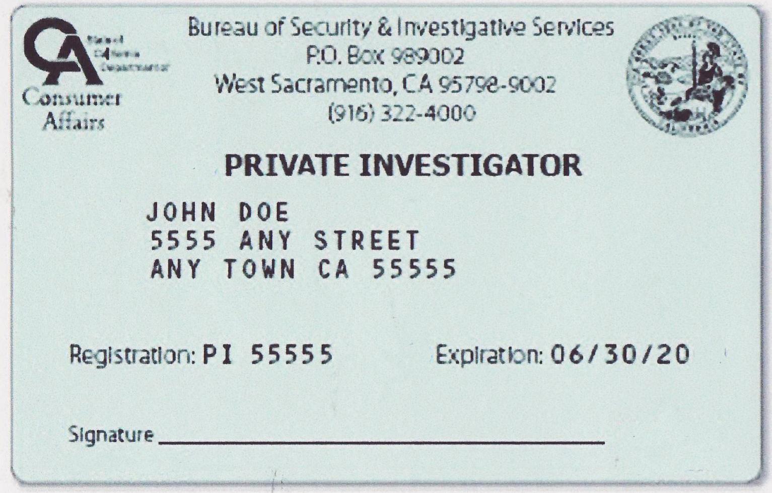 California private investigator pi license test california private investigator study material and practice tests california pi license test at 1betcityfo Choice Image